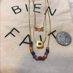 Madewell Jewelry   3x Madewell Custom Bundle Necklaces   Color: Gold   Size: Set