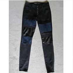 American Eagle Outfitters Jeans | American Eagle Black Blue Denim Jeggings Jeans 2 | Color: Black/Blue | Size: 2