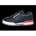 Lacoste Missouri Bleu Marine Et Orange Baskets Homme