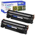 SuperInk Compatible Toner Cartridge Replacement for HP 85A CE285A to use with HP Laserjet P1102w P1109w M1212nf Laserjet Pro M1217nfw M1212nf M1132 M1139 MFP Printer(Black, 2-Pack)
