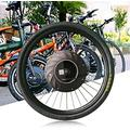 TBVECHI 26-inch Bicycle Motor Conversion Kit 36V Electric Front Wheel Conversion Kit Hub Motor Conversion Kit Bike Cycling Hub with Battery