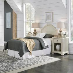 Birch Lane™ Mclin Headboard & 2 Nightstands Wood in Brown/White, Size Twin | Wayfair 6E71647A3ACC4B0A940A5901D19D64EC