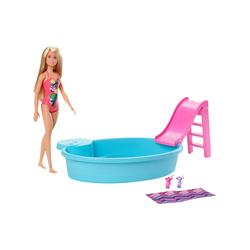 Barbie Dolls - Barbie Blonde Doll Pool Set