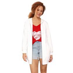 Plus Size Women's Love Ellos Tank by ellos in Apple Red Heart (Size 34/36)