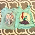 Disney Shirts & Tops | 2 Disney Tank Tops 3t | Color: Blue/Green | Size: 3tg
