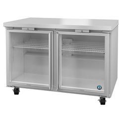 "Hoshizaki UR48A-GLP01 SteelHeart 48"" W Undercounter Refrigerator w/ (2) Sections & (2) Doors, 115v"