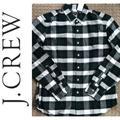 J. Crew Shirts | (Nwt) J.Crew Mercantile Flex Plaid Button-Up | Color: Blue/Green | Size: L