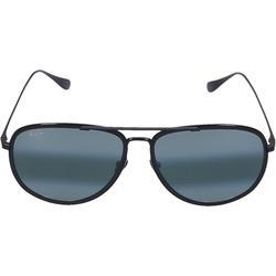 Sunglasses Aviator Fair Winds 02 Titan Black - Black - Maui Jim Sunglasses