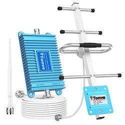 AT&T Cell Phone Signal Booster 4G LTE 700Mhz Band12 /17 T-Mobile ATT Cell Phone Booster Repeater Boost Data+Voice Mobile Signal Booster AT&T Cell Signal Phone Amplifier with Antenna Kits for Home