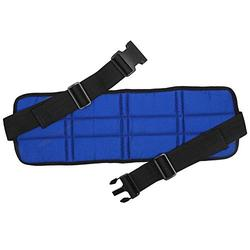 Wheelchair Seat Belt,Breathable Adjustable Wheelchair Seat Belt Cushion Safety Harness Straps Lap Seat Belt Adult Wheelchair Seat Belt Wheelchair Harness(Blue)