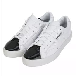 Adidas Shoes   Adidas Originals Sleek W Womens Casual Sneakers   Color: Black/White   Size: Various