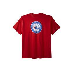 Men's Big & Tall NBA Team Logo Tee by NBA in Philadelphia 76ers (Size 3XL)