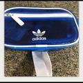 Adidas Bags   Adidas Clear Blue Fanny Pack   Color: Blue/White   Size: Small Fanny Pack