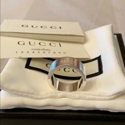 Gucci Jewelry   Authentic Brand New Gucci Ring   Color: Silver   Size: Os