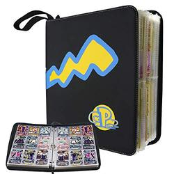 Trading Card Holder Album, 9-Pocket Pages Trading Cards Album Trading Cards Collectors Album Compatible with All Standard Card, Holds Up to 720 Carrying Case Binder (13 x11inch)