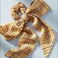 Anthropologie Accessories   Anthropologie Hair Scarf With Scrunchie   Color: Orange   Size: Os