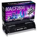 Cuxwill Compatible Toner Cartridge Replacement for HP 80A CF280A 05A CE505A to use with Laserjet Pro M401a M401d M401n M401dn M401dne M401dw M425dna, P2035 P2035n P2055d P2055dn P2055x Printer (Black)