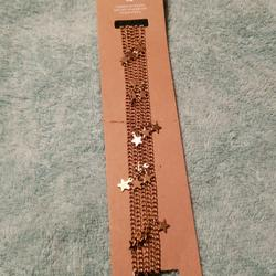 American Eagle Outfitters Jewelry | American Eagle Women Choker Necklace | Color: Gold | Size: Os