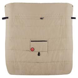 Kushies Baby Double Stroller Blanket Fleece in Brown, Size 36.0 H x 34.0 W x 2.0 D in | Wayfair W470368