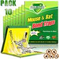 Mouse Traps,RatTraps,Mouse Traps Indoor,Rat Traps for House,Mouse Glue Traps,Mice Traps for House,Sticky Traps, Glue Boards Professional Strength That Work Capturing Indoor and Outdoor Rat