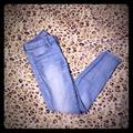 American Eagle Outfitters Jeans   Aeo Light To Medium Wash Jeans   Color: Blue/White   Size: 4