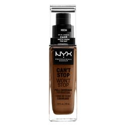 NYX Professional Makeup Can't Stop Won't Stop Fond de Teint Liquide Fond de teint liquide longue tenue - Mocha
