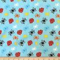 Camelot Quilt Fabrics The Big Bang Theory Atoms in Quilt Fabric, Blue, Quilt Fabric By The Yard