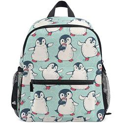 NB UUD Mini Backpack Cute Animal Penguin Daily Backpack for Travel