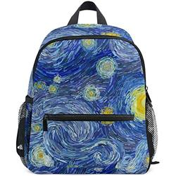 Mini Backpack Van Gogh Starry Night Daily Backpack for Travel