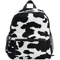 NB UUD Mini Backpack Animal Cow Print Daily Backpack for Travel