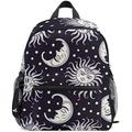 NB UUD Mini Backpack Tribal Moon Sun Face Star Daily Backpack for Travel