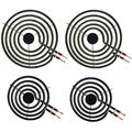 """LXun MP22YA Electric Range Burner Element Unit Set, 4 Pack Included 2 x MP15YA 6"""" and 2 x MP21YA 8"""" Replacement for Kenmore, Hardwick, Whirlpool, Maytag, Norge Ranges/Stoves"""