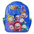 Oddbods Blue Backpack for Kids' School & Travel - Small, Insulated Children's Bookbag for Preschool, Kindergarten & Elementary School, Room for Lunchbox, Notebooks & More, Includes Two Side Pockets