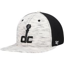 """Men's '47 Cream/Black Washington Wizards Downswing Captain Snapback Hat"""