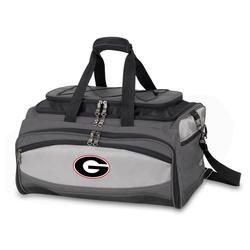 Georgia Bulldogs Portable Charcoal Grill & Cooler Tote