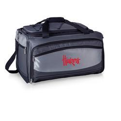 Nebraska Huskers Portable Charcoal Grill & Cooler Tote