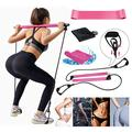 Pilates Bar, Workout Equipment for Home, Pilates Exercise Stick, Pilates Reformer Bar Portable Pilates Bar Kit with Resistance Band, Sit-Up Bar for Home Gym, Yoga, Fitness, Stretch, Sculpt, Twist