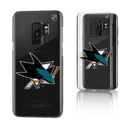 San Jose Sharks Galaxy Clear Phone Case
