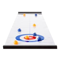 Hey! Play! Tabletop Curling Game, Size 0.5 H x 47.0 W x 11.0 D in   Wayfair 80-HCH-CUR