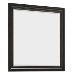 Red Barrel Studio® Jaishri Beveled Dresser MirrorWood in Black/Brown, Size 38.2 H x 38.2 W x 1.1 D in | Wayfair 14C5546D90DD4158BC08D238A6537CA6