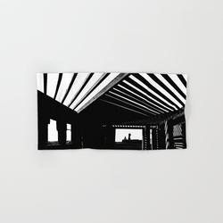 Hand Towel | Shadows And Light by Poetic City - Hand Towel - Society6