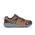 Merrell Men's Fullbench 55 Alloy Toe Work Shoe, Size: 11.5, Orange