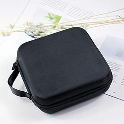 Travel Cable Storage Bag Carry Case Waterproof EVA Hard Shell Essential Carrying Case Holds with Slots for Games & Inner Pocket