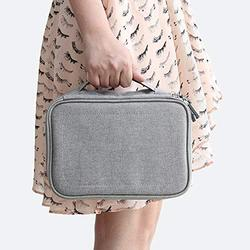 Storage Bag Carry Case Hard Shell Travel Bag Portable Travel and Storage Carry with Slots for Games & Inner Pocket