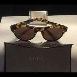 Gucci Accessories | Gucci Sunglasses With Gucci Accessories | Color: Black | Size: Os