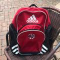 Adidas Bags | Adidas Soccer Backpack | Color: Black/Red | Size: Os