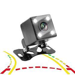 HKPKYK Car Rear View Camera,Car Rear View Backup Camera Intelligent Dynamic Trajectory Tracks Rear View Camera HD HD 170 Degree Reverse Backup Camera
