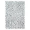 nuLOOM Indoor Rugs Gray - Gray Leopard Rug