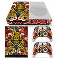 ZOOMHITSKINS X1 S Skins for Console and Controller, Asia Samurai Sword Art Chinese Graphic Yellow Gold Japan, High Quality, Durable, Bubble-free, Goo-free, 2 Controller Skins 1 Console Skin, USA Made