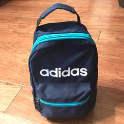 Adidas Bags | Adidas Mini Backpack Lunchbox Hiking Bag | Color: Blue/Pink | Size: Os